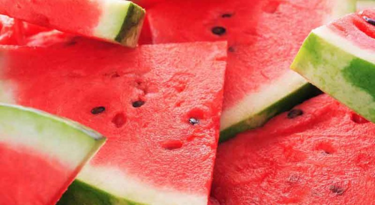 fruta de temporada verano