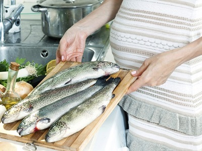Pescados que no pueden comer las embarazadas